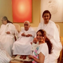 JANKI DADIJI FROM BRAHMA KUMARIS 102 YEARS YOUNG