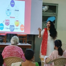 WORKSHOPS ON HEALTHY DIET AND LIFE STYLE- PRATIBIMB CHARITABLE TRUST5