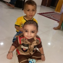 Both OM and Samit born after difficult cases of fertility