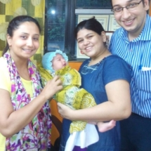Healthy baby Boy born to Doctor parents,Father of child is Onco surgeon.wife conceived within just 3 months of OUR HERBS AND DIET