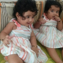 Twins HEALTHY and happy babies born with our herbs.They have so beautiful hair and skin